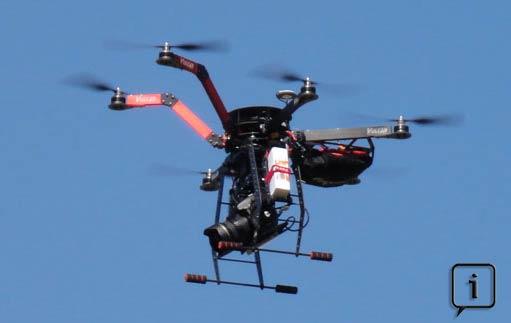 Nacelle drone
